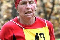 Dagmar Březinová byla nejrychlejší ženou v první závodě.