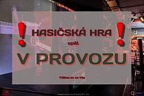 Hasičská hra infocentru a hasičském muzeu v Jirkově je opět v provozu.