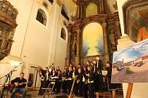Benefiční koncert Studenti pro Ignáce v chomutovském kostele.