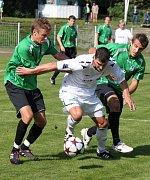 Fotbalisté Chomutova doma vítězí.