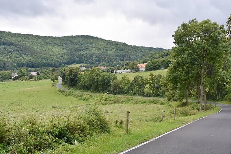 Krajina kolem Lestkova.