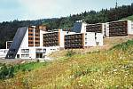 Škola v přírodě v Koutech nad Desnou v Jeseníkách, kde bývalo Účelové zařízení ČEZ.