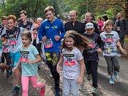 Běh Za novým úsměvem v chomutovském zooparku