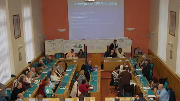 Setkání občanů se zástupci města Chomutova.