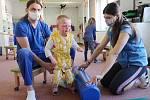 František dělá pokroky díky speciální rehabilitační metodě.