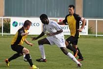 Mostecký Djiby Tidiane Ba posílil pro nedělní utkání chomutovskou Lokotku.