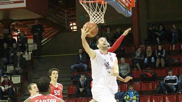 Jan Štěpánek v utkání proti Nymburku