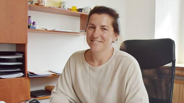 Lenka Štelcichová, starostka Hory sv. Šebestiána