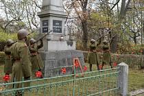 V Chomutově proběhl pietní akt u příležitosti Dne válečných veteránů v komorní formě.