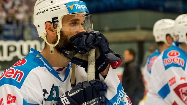 Kapitán Pirátů Michal Vondrka je zklamaný, ale na svůj tým pyšný.