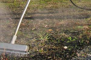 Odstraňování plevele. Ilustrační foto