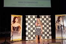 Nina Schwarzová z Chomutova při soutěži.