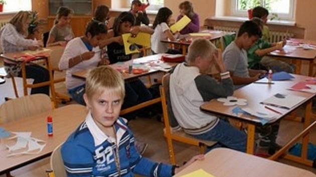Ilustrační foto dětí z Radonic.