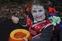 Strašidelná zoo aneb Halloween v chomutovském zooparku.