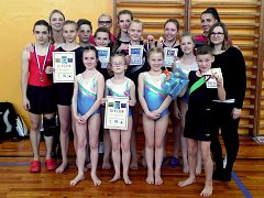 Oddíl sportovní gymnastiky Kadaň byl úspěšný na regionálním kole v Chomutově. Sedm jeho zástupců se probojovalo do republikového finále.