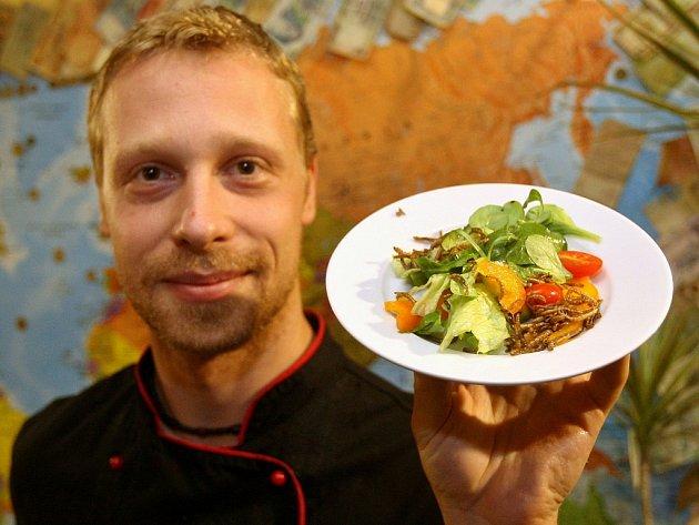 Šéfkuchař Milan Václavík