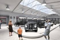 Takto má vypadat nové muzeum s unikátní sbírkou pragovek podle architektů z Ateliéru Kopecký.