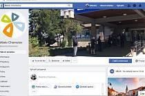Za svůj facebooku si Chomutov vysloužil první místo v celorepublikové soutěži.