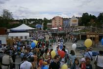 Společné náměstí Vejprt a Bärensteinu.