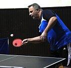 Povánoční turnaj ve stolním tenisu uspořádala obec sokolská ve Spořicích.