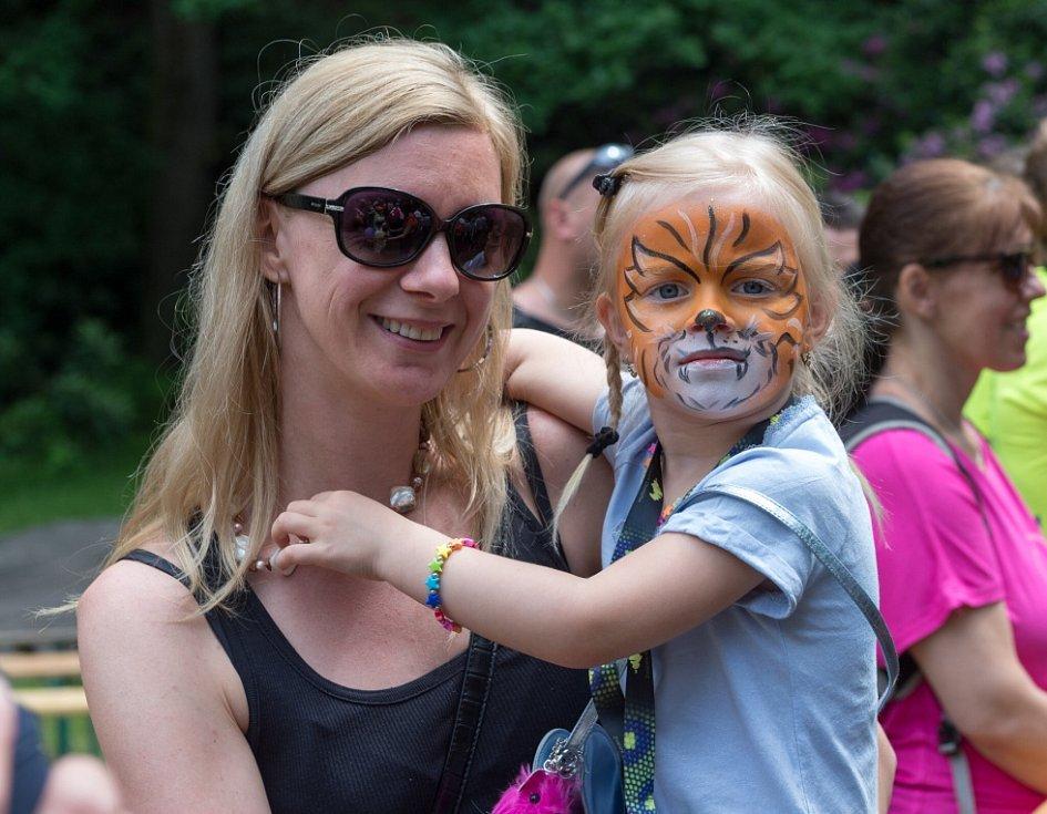 Dětský den v Podkrušnohorském zooparku.