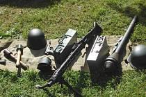 Vybavení skupiny Nord-Sever.