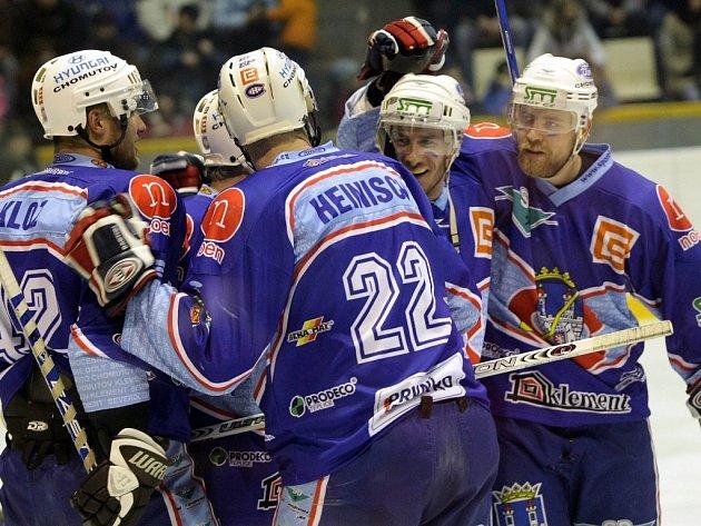 Chomutovští hokejisté zlomili Olomouc.