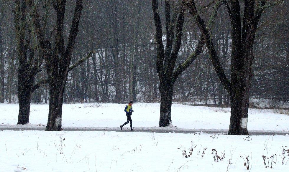 Běžci na trati Desítky v Bezručáku.