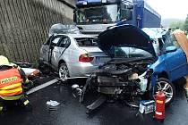 Tragická nehoda na silnici I/13 u Klášterce nad Ohří