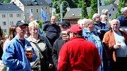 Pivní slavnosti na souměstí Vejprt a německého Bärensteinu.