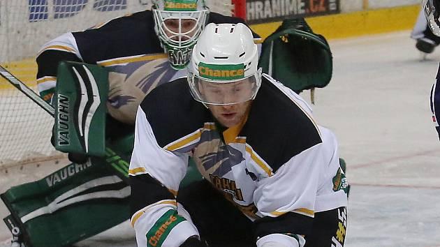 Kadaňští hokejisté si doma poradili s Třebíčí těsně 4:3.
