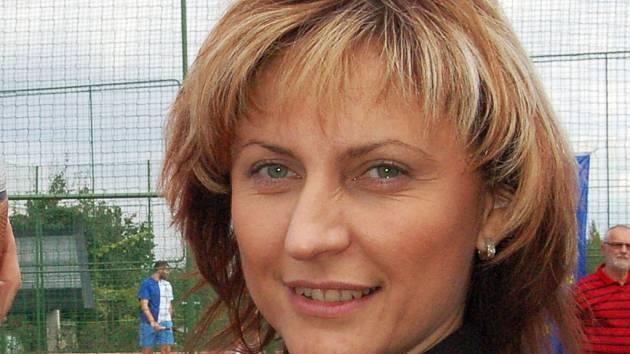 Chomutovská primátorka Ivana Řápková.
