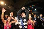 Maturitní ples Střední zdravotnické školy vchomutovském divadle, 2010.