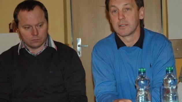 Setkání vedení klubu KLH  s fanoušky.