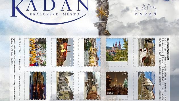 Návrh nové emise známek. Ještě přibydou znaky České pošty a ostatní náležitosti včetně ceny.