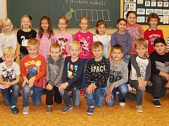Žáci 1. B ZŠ Březenecká v Chomutově paní učitelky Petry Radimské