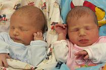 Markéta Petriláková a Jakub Petrilák se narodili 8.12. 2009 v kadaňské nemocnici. Jakub se narodil v 19.09 hodin, měřil 48 centimetrů a vážil 2,80 kilogramů, Markéta se narodila v 19.10 hodin, měřila 48 centimetrů a vážila 2,75 kilogramů. Šťastnou maminko