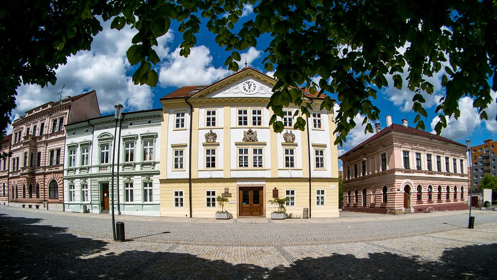 Centrum města Jirkov