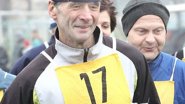 Jan Zelenka - vítěz kategorie M60.