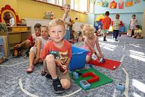 Děti ve školce. Ilustrační snímek.