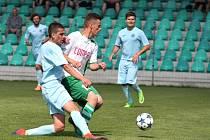 Utkání Chomutova (v modrém) proti Novému Boru