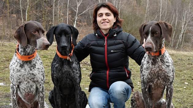 Martina Štěpánková a její psi
