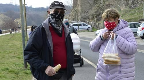 Lidé na Chomutovsku si užívali víkend na čerstvém vzduchu