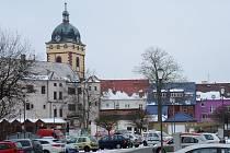 Centrum severočeského Jirkova