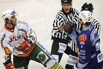 Hokejsité HC Most nedali v posledním zápase KLH Chomutov šanci.