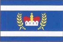 Nová vlajka obce Hrušovany.