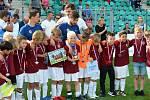 Vítězem finálového turnaje se stal tým AC Sparta Praha na snímku.