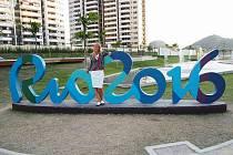 Simona Baumrtová v Riu.