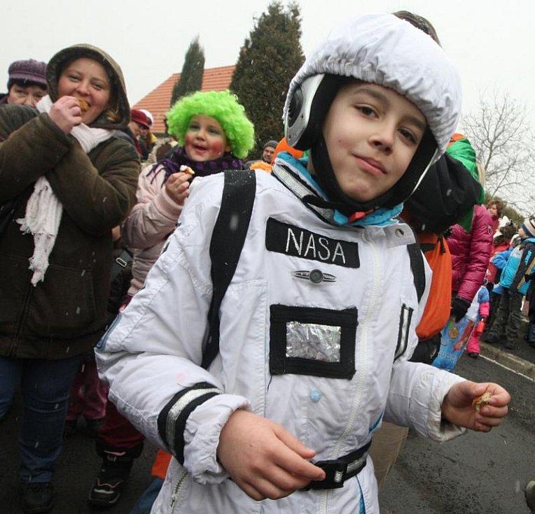 Kosmonaut v Chomutově.