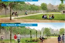 Jakou variantu byste chtěli v parku vy? Hlasujte v anketě pod článkem.